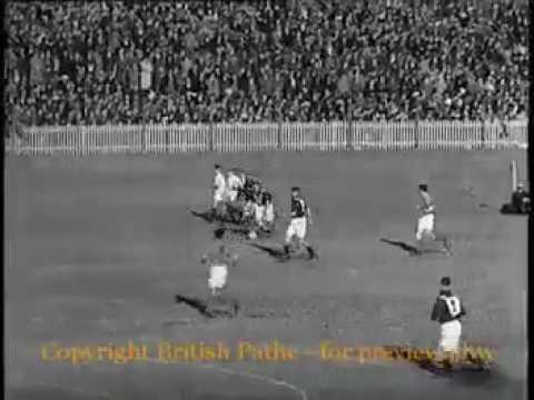 1939 soccer match. Palestine vs Australia