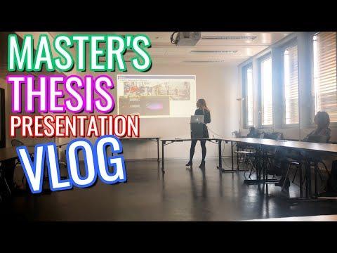 Master's Thesis Presentation Vlog | Mechanical Engineering Vlog | ETH Zurich Vlog