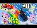 Let's Play LEGO Movie - Part 11: Cloud Cuckoo Land pt 2. + Attack On CCL | Walkthrough Wii U