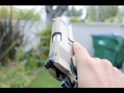 Airsoft WE 1911 Shooting