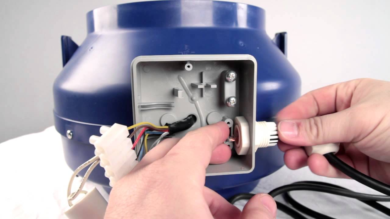 How To Wire a VexAir Full Variable Speed Range Hood Blower
