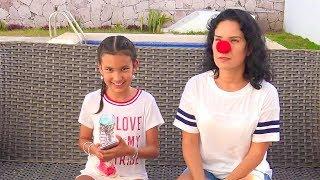 TAG DE MAMA VS HIJA CON RETO! | TV ANA EMILIA