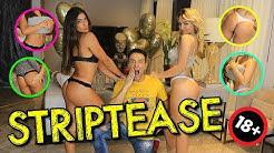 STRIPTEASE COM RACHEL APOLLONIO E RAFA KALIMANN | #MatheusMazzafera