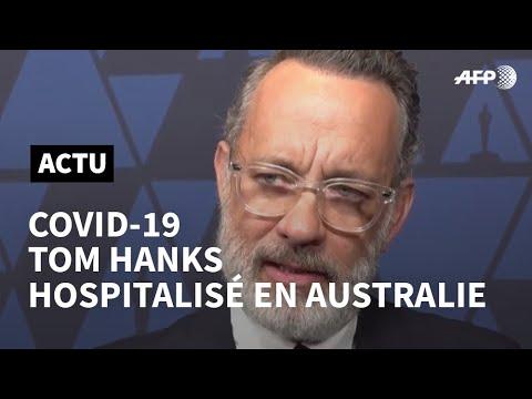 Tom Hanks atteint du coronavirus et hospitalisé en Australie   AFP News