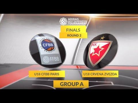 EB ANGT Finals Highlights: U18 CFBB Paris-U18 Crvena Zvezda mts Belgrade