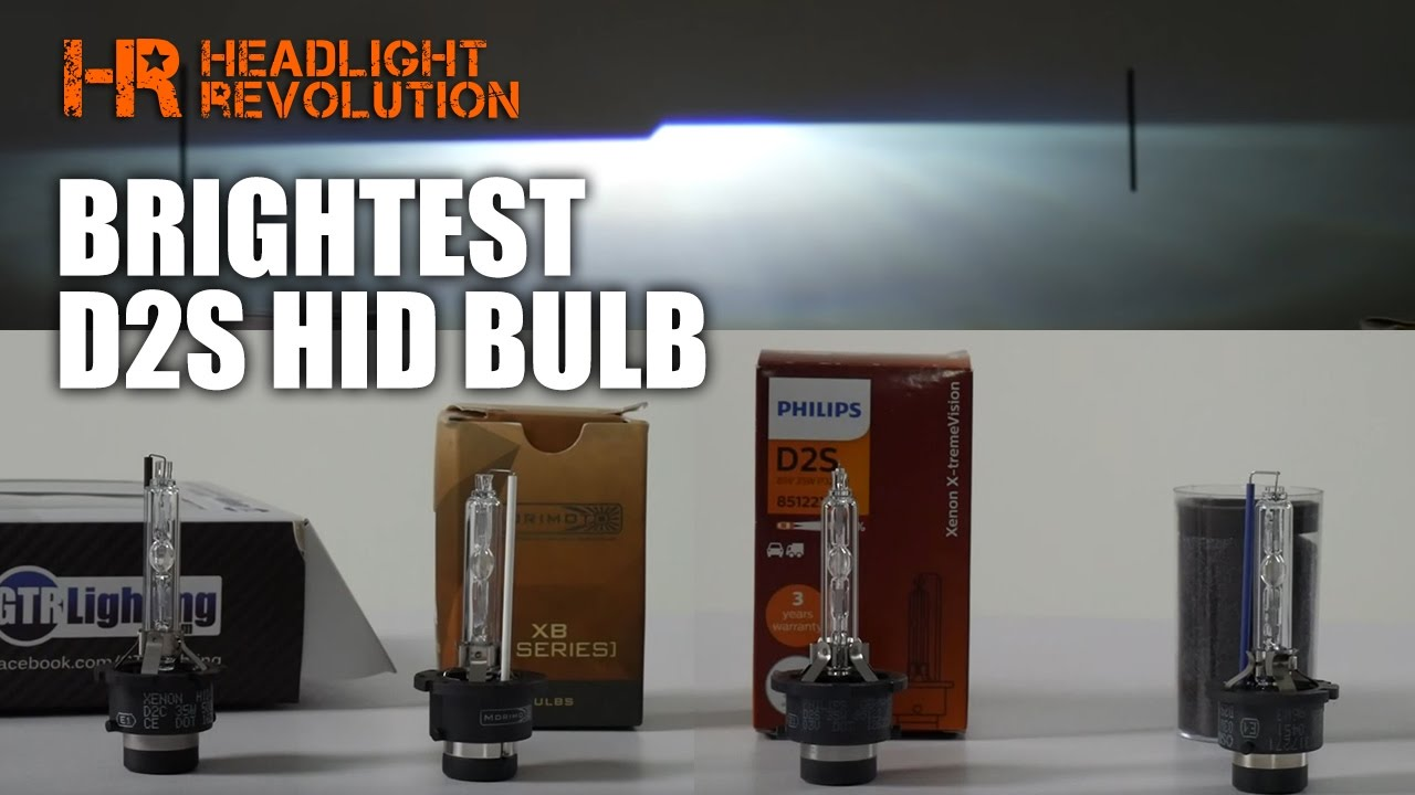 Which D2S HID Bulb is the Brightest? Morimoto, GTR Lighting, Osram CBI or  Philips Xtreme?