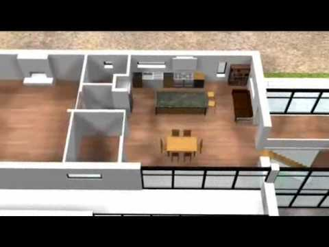 Grand design 3D house perspective 6
