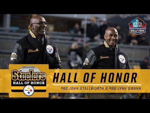 Lynn Swann, John Stallworth on their Hall of Honor Induction