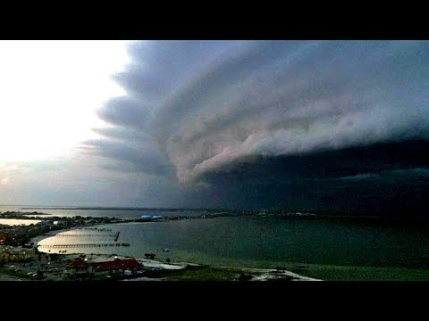 THE MOST EXTREME Storm Footage - Tornado, Hurricane, Hailsto