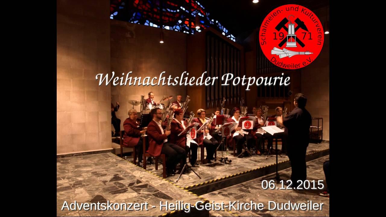 Weihnachtslieder Kirche.Weihnachtslieder Potpourie Live Skvd E V Heilig Geist Kirche Dudweiler 2015