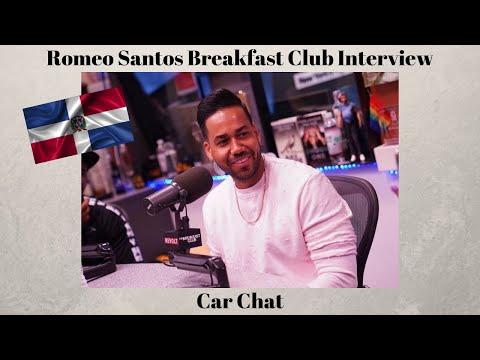 Car Chat: Romeo Santos Breakfast Club Interview   Dominican Backlash