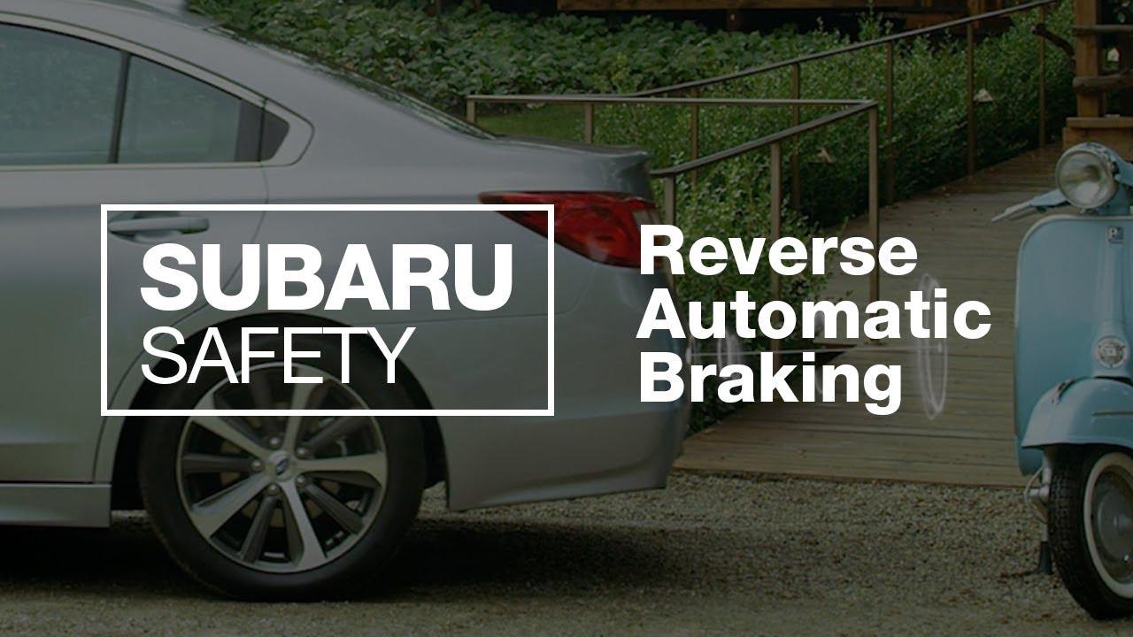Subaru Reverse Automatic Braking Explained (2018 Updated)