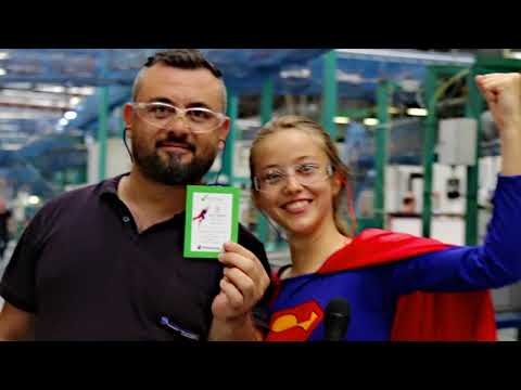 A Artı OSGB - Safetywoman in Stackpole International İzmir 2018