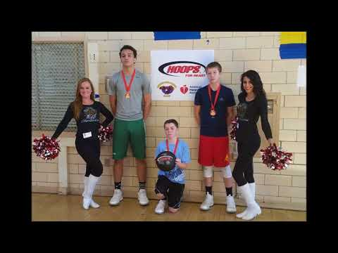 Arbutus Middle School Hoops for Heart event