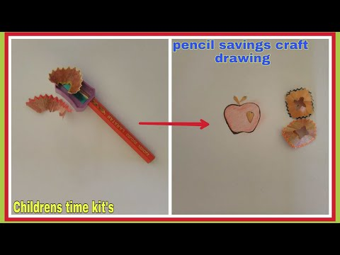 pencil-savings-craft-drawing/apple,sea-horse,-mouse-pencil-savings-drawing/childrens-time-kit's