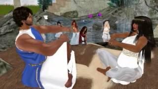 Nascimento de Alexandre e Lucia Tigerauge - Second Life