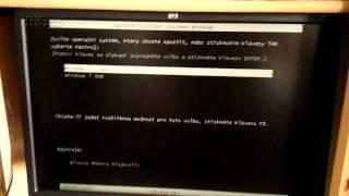 Spouštění počítače bez grafiky vytažením PCI grafiky za chodu