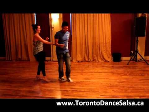 Toronto Dance Salsa Beginner Salsa Combination #4