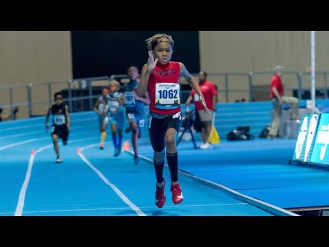 9 year old 800m Dash JoReal Ellinger AAU National Championship Standout