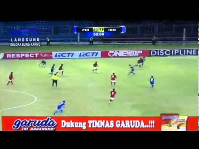 FULL MATCH AFC U19 Qualifier Indonesia vs Philipine (2-0) 10-Oct 2013 Travel Video