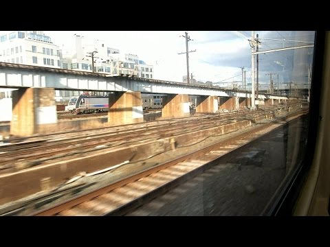 LIRR train ride from NYC Penn Station To Jamaica