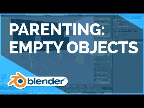 Parenting to Empty Objects - Blender Fundamentals