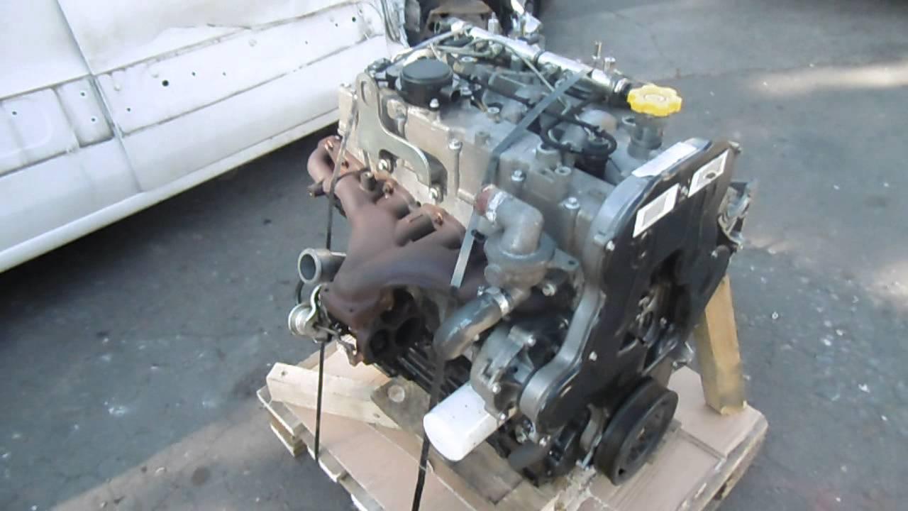 LDV MAXUS EURO 4 25 TD ENGINE  YouTube