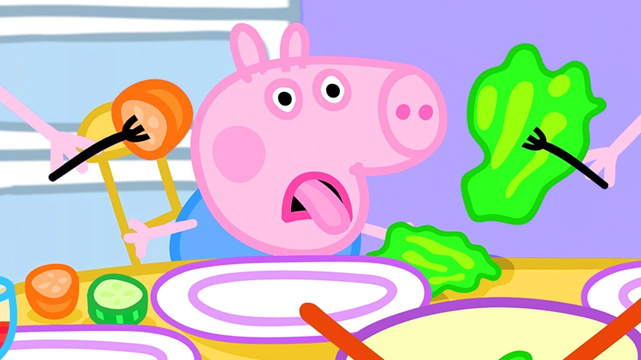 Peppa Pig Official Channel | Lunch