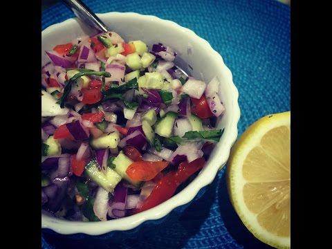 How To Make ONION SALAD For Poppadoms - Al's Kitchen