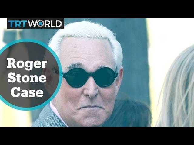 Trump's ally Roger Stone is due to be sentenced on Thursday