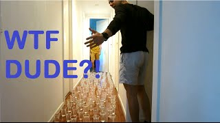 Hilarious Hungover and Trapped PRANK