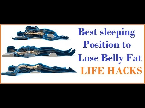 Best Sleeping Positions To Lose Belly Fat
