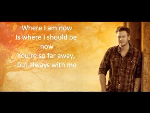 Do You Remember - Blake Shelton (Lyrics)