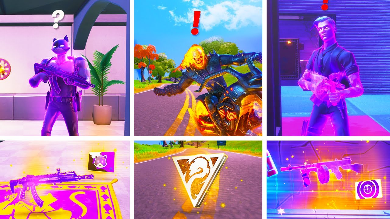 Fortnite All New Bosses, Mythic Weapons & Vault Locations Guide in Fortnite Update 14.50 Season