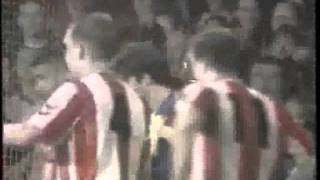 Brentford V Derby County 1992/93 Anglo Italian Cup Semi Final - Both Legs