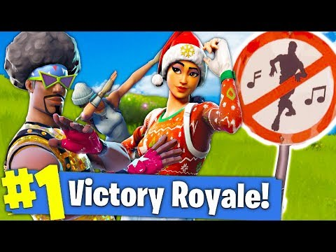 YOU CAN'T DANCE HERE!! ALL BANNED DANCE LOCATIONS in Fortnite Battle Royale!!