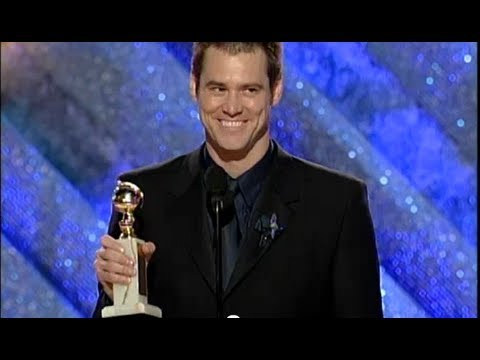 Jim Carrey Wins Best Actor Motion Picture Drama Golden Globes