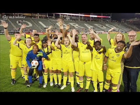 Crew SC & MLS Works visit Colorado for the annual Special Olympics Unified Match