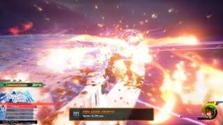 Kingdom Hearts 3 LV1 Crit Data Xemnas Speedrun 1:33