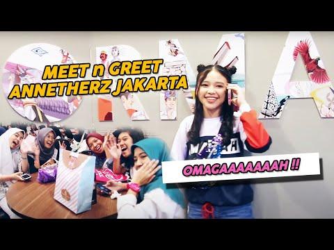 Meet n Greet ANNETHERZ JAKARTA,  OMAGAAAAH!!!