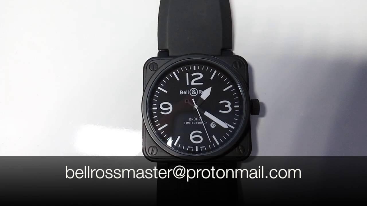2201f9df7e3 Bell   Ross BR 01-92  Replica  - YouTube