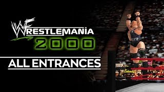 WWF Wrestlemania 2000: All Entrances (1080p HD)
