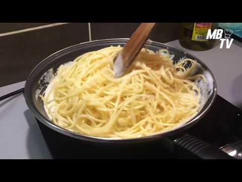 Spaghetti sauce au Gorgonzola