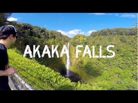Hawaii Big Island Adventures: Hiking To Akaka Falls