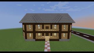 Minecraft Tutorial - come costruire una casa di legno