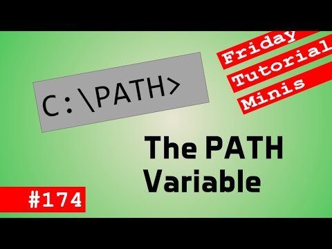 The PATH Variable - Friday Minis 174