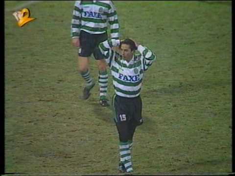 Casino Salzburg - 3 x Sporting - 0 (ap) de 1993/1994