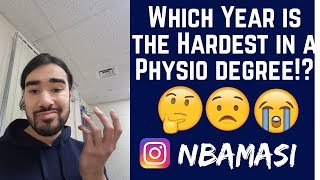 Physiotherapy Student | Which Year is the Hardest!?
