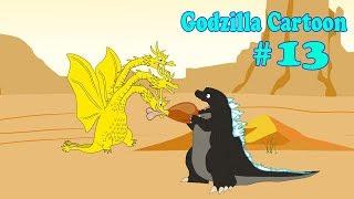Godzilla, Shin Godzilla, Dinosaur, King ghidorah - FUNNY #13  | Godzilla Cartoons