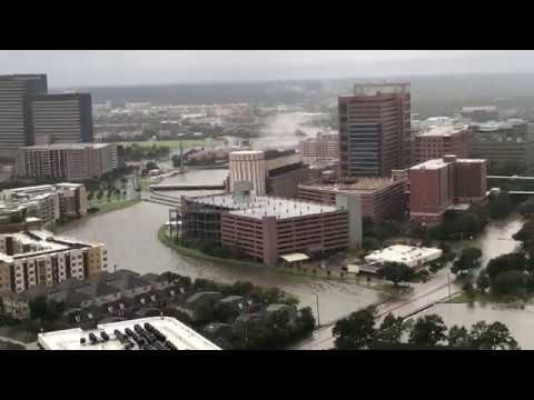 Houston Texas Medical Center - Harvey flooding.